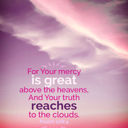 Psalm 108 God's mercy